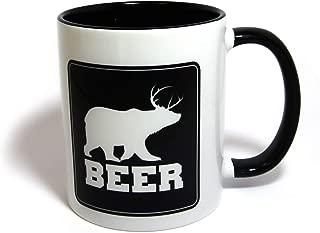 Beer | Bear + Deer = Beer Coffee Mug | Funny Gift
