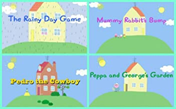 Storybook Collection: The Rainy Day Game, Mummy Rabbit's Bump, Pedro the Cowboy & Peppa and George's Garden