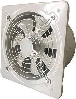 Extractor de ventilación industrial Metal Axial Extractor Ventilador de aire comercial Funcionamiento de bajo ruido estable, blanco (tamaño: 4 pulgadas