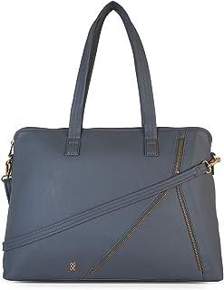 Baggit Autumn-Winter 2020 Faux Leather Women's Satchel Handbag (Grey) (Raffy)