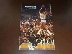 1983 1984 PHOENIX SUNS NBA BASKETBALL MEDIA GUIDE LARRY NANCE COVER EX