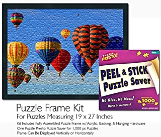 Jigsaw Puzzle Frame Kit - Made to Display Puzzles Measuring 19x27 Inches