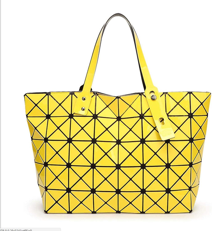 Gefaltete Wilde Kurier-Tasche der Art und Weise beiläufige Tasche (Farbe   Gelb, größe   43  28cm) B07L8F99S1  Wert