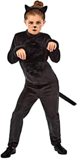 fun shack Girls Halloween Costumes Kids Cute Cat & Scary Witch Childrens Outfits
