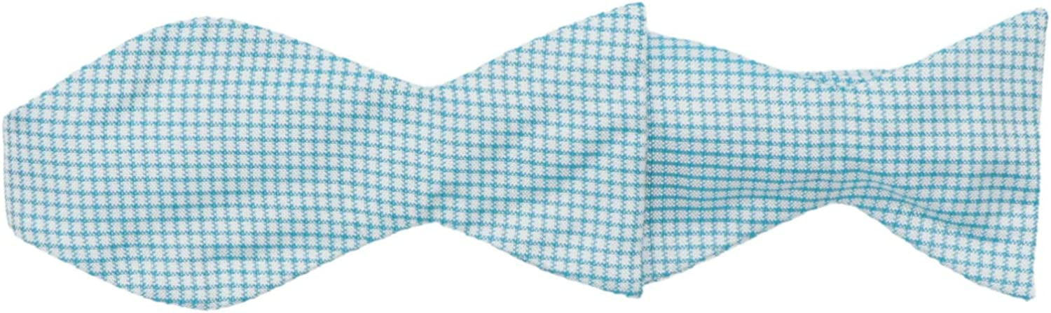 Carrot and Gibbs Men's Plaid Bow Tie