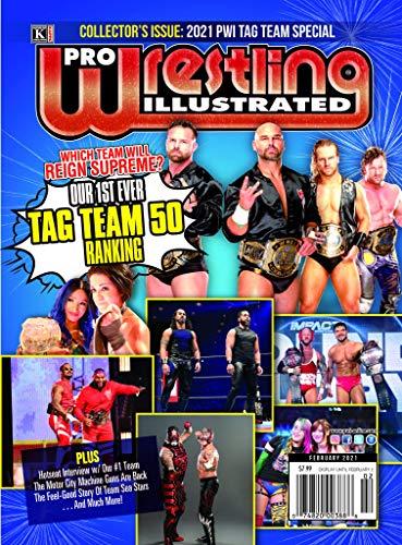 Pro Wrestling Illustrated: February 2021 Issue-Tag Team 50, FTR, Motor City Machine Guns, Rocky Romero (English Edition)