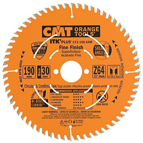 Cmt - 273.190.64m - sierra circular itk plus hw 190x1.7x30(+