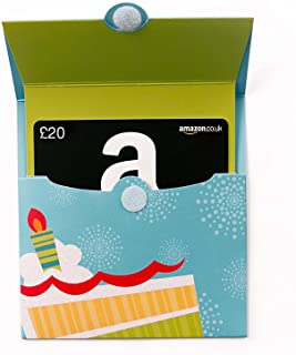 Amazon.co.uk Gift Card for Custom Amount in a Birthday
