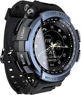 MK28 Smart Watch 1.14inch Screen BT4.0 Life Waterproof Pedometer Calories Alarm Sports Men Smartwatch for Android 6.0 / iO...