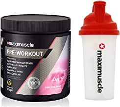 MAXIMUSCLE Pre-Workout – 300g – Pink Lemonade with Shaker Estimated Price : £ 24,99