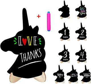 Mini Chalkboard Food Signs Small Black Board for Party Sign 20 Pack Rectangle Chalkboards with Stand,Food Name Card,Special Event Decorations