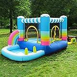 SeptYN Kinder Bounce Castle, 2 in 1 aufblasbares Bounce Castle mit Wasser- / Kugelpool,...