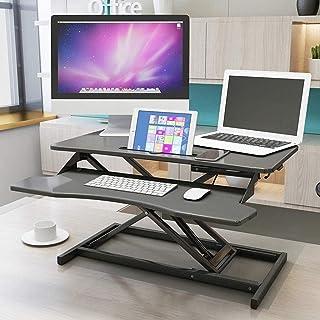 حامل تخزين تلفزيون غرفة نوم كمبيوتر مكتب قائم مع ارتفاع قابل للتعديل مكتب مكتب 32 بوصة مكتب واقف، أثاث منزلي إبداعي، Hao S...