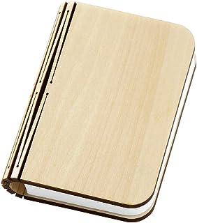 クリエイティブUSB充電式折り畳み式ブックシェイプLED電気スタンドナイトライト(A)、Gurupu
