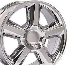 OE Wheels 20 Inch Fits Chevy Silverado Tahoe GMC Sierra Yukon Cadillac Escalade CV83 Chrome 20x8.5 Rim Hollander 5308