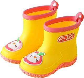 [XINXIKEJI] レインブーツ キッズ 女の子 男の子 可愛い 3D漫画グラフィック ベビー用レインブーツ ジュニア 長靴 防水 軽量 滑り止め 雨 雪 子供靴 梅雨対策 通園・通学