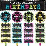 preschool birthday chart - Teacher Created Resources Chalkboard Brights Our Class Birthdays Mini Bulletin Board (5506)