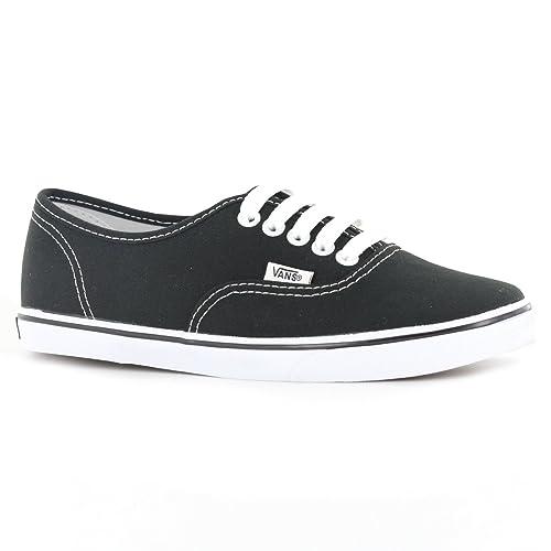 a80cacf3b5 Vans U Classic Authentic Black Black Canvas VN000EE3BKA Skate Shoe
