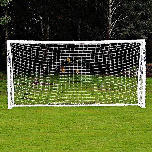 LQUIDE Ersatznetze für Fußballtore, tragbare Fußballtore für Kinder Junior Football Goal Net, Garden Net (nur Netz)