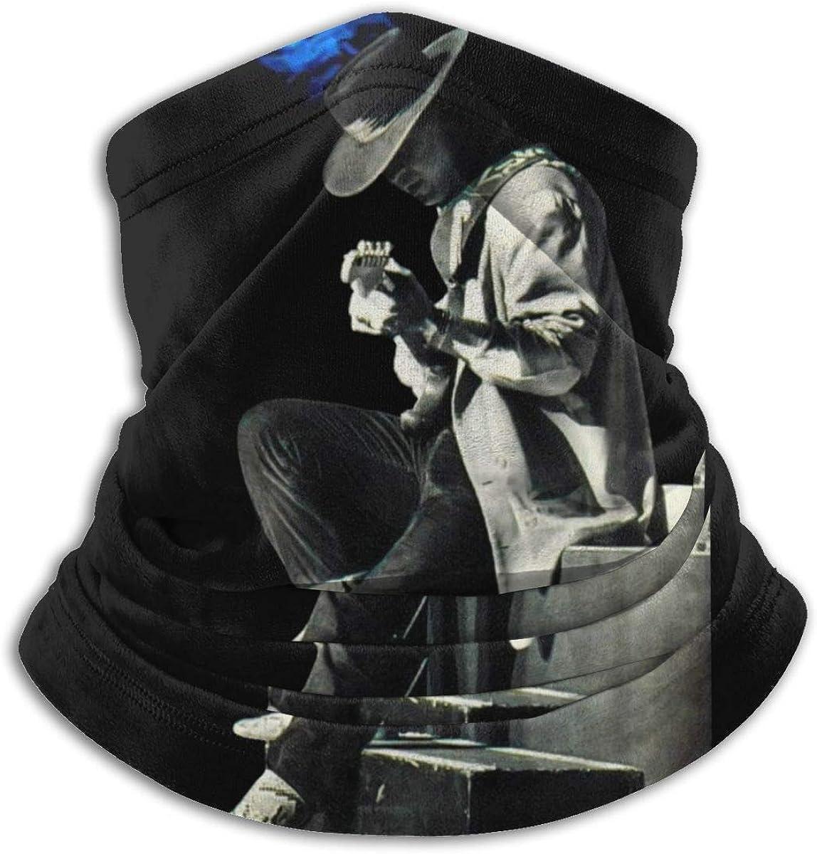 Microfiber Neck Warmer Face Bandana Bandanas For Dust Outdoors Soft Microfiber Headwear Scarf Neck Gaiter-Stevie Ray Vaughan
