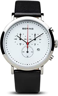 BERING Time 10540-404 Classic Collection Watch with Calfskin Band and Scratch Resistant Sapphire Crystal. Designed in Denmark.