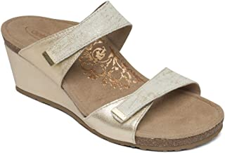 Womens Chantel Slide Wedge Sandals