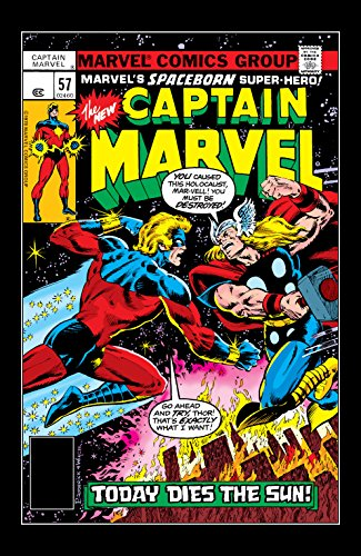Captain Marvel (1968-1979) #57 (English Edition) eBook: McKenzie, Roger, Broderick, Pat, Broderick, Pat: Amazon.es: Tienda Kindle