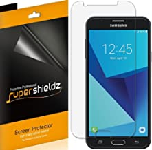 (6 Pack) Supershieldz for Samsung (Galaxy J7 Sky Pro) Screen Protector, High Definition Clear Shield (PET)
