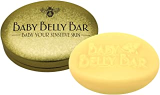 Honey House Naturals Baby Belly Bar Solid Lotion Bar, New in Gold Tin Case, 1.7 oz