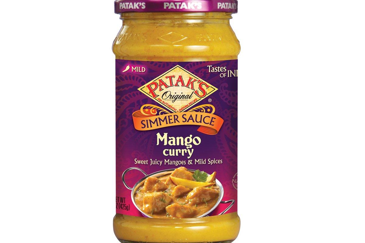Pataks Credence Sauce Glass Mango Max 75% OFF