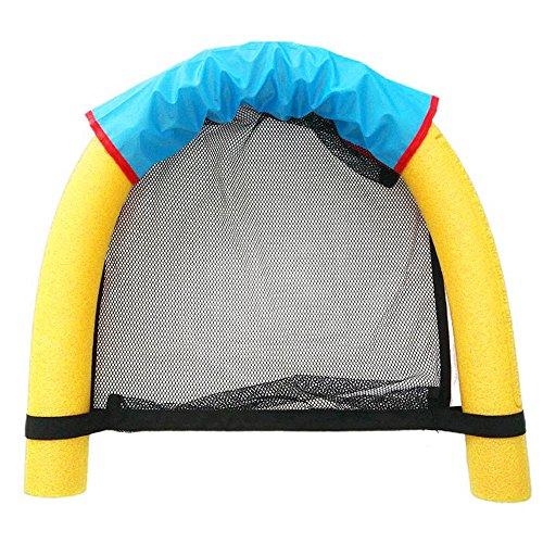 Weehey 150 * 6.5 cm 2 Formas de Agua Espuma Natación Stick Soft Noodle Pool Malla Silla Flotante para Adultos y Niños Herramientas Auxiliares de Natación