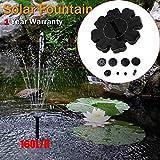 FRsolder Pas Cher Aquarium Solaire extérieur Solaire alimenté Pompe de Fontaine d'eau de Bain d'oiseau pour Piscine, Jardin, Aquarium big Sales