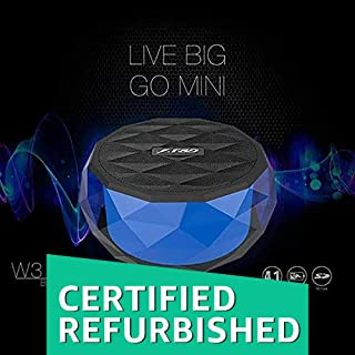 (Renewed) FD W3 Wireless Portable Bluetooth Speaker (Blue)
