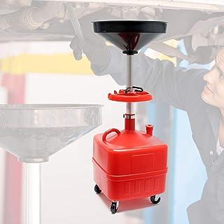 Recogedor aceite por gravedad 35L Contenedor drenaje aceite