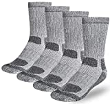 Buttons & Pleats Wool Socks for Men...