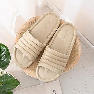Unisex Summer Bathroom Slippers Couple Indoor Sandals