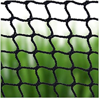 Net Backstop,Baby Stair Net Balcony Safety Kids Railing Ball Stopping Netting Nylon Goal Ball Stop Net Nets Golf Course Barrier Replacement Protection Rope Children Rail Stairs Indoor Outdoor Black