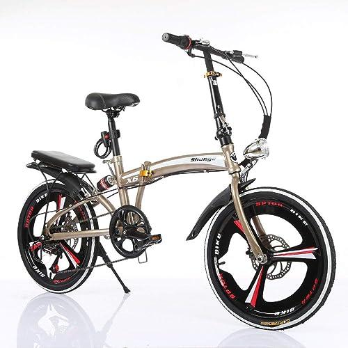 estar en gran demanda WY-Tong Bicicleta Infantil Bicicletas Infantiles Bicicleta Bicicleta Bicicleta de Plegado de Freno de Disco de Cambio de Velocidad hombres y mujeres Bicicleta Pequeña portátil Ultra Ligera  ganancia cero