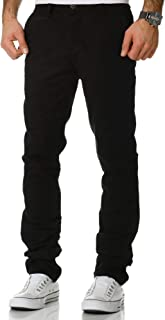 Amaci&Sons 1-7010 Men's Regular Slim Stretch Chino Trousers Fit