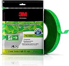 Fita 3M VHB Dupla-Face de Adesivo Transferível 4910 Transparente - 19 mm x 20 m