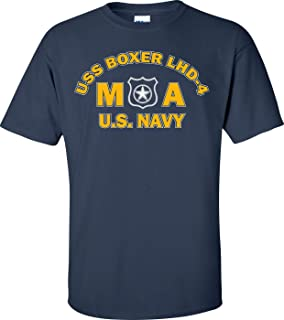 USS Boxer LHD-4 Rate MA Master at Arms T-Shirt