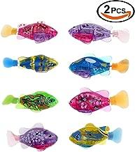 Autoer Fisch aktiviert batteriebetriebene Schwimmen Jungen Bad Spielzeug Neu