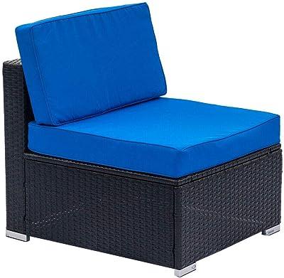 Amazon.com : Vondom Vela Sofa Central Module Ecru : Garden ...