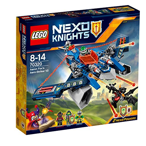 Lego Nexo Knights 70320 - Set Costruzioni L Aereo-Jet V2 di Aaron