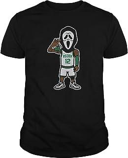 CAL-T Diseño Inspirado Scary Terry Rozier Hombre Algodón Camiseta