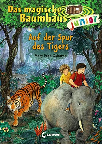 Das magische Baumhaus junior 17 - Auf der Spur des Tigers: Kinderbuch zum Vorlesen und ersten Selberlesen - Mit farbigen Illustrationen - Für Mädchen und Jungen ab 6 Jahre