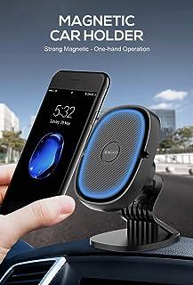 حامل هاتف مغناطيسي للسيارة قابل للدوران 360 درجة من ادموس متوافق مع ايفون 12 ميني وايفون 12 و12 برو و12 برو ماكس وايفون 11...