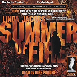 Summer of Fire audiobook cover art