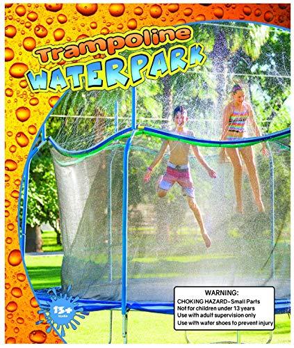 Trampoline Waterpark 2.0 - Fun Summer Outdoor Water Game