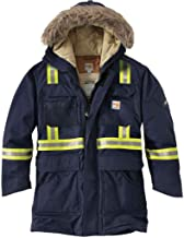 Carhartt Mens 100784 Flame-Resistant Extremes Arctic Coat Sherpa Li